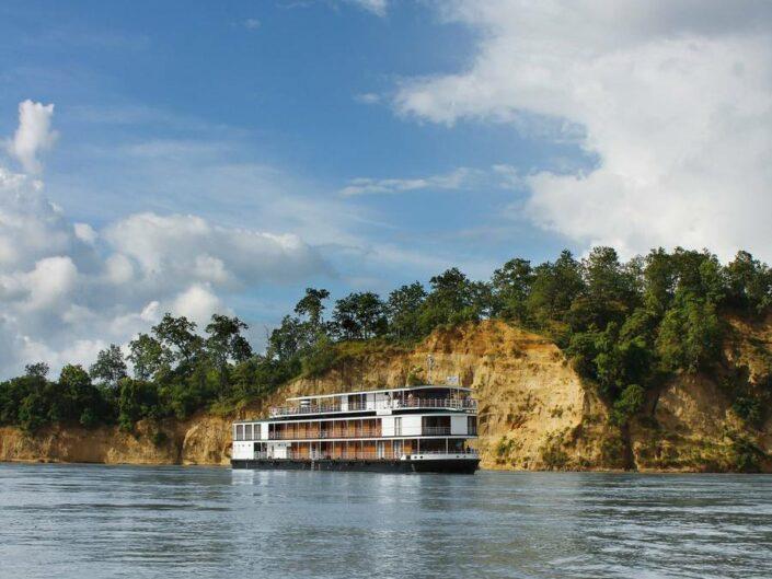Flusskreuzfahrt durch Myanmar