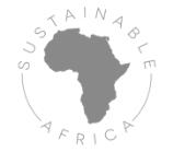 hellgraues Logo von sustainable Africa