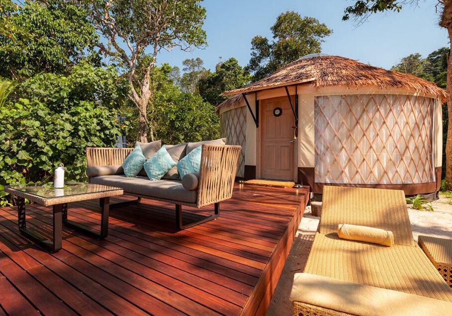 Coronafreies Reiseziel #7 👉 Awei Pila Resort