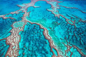 Great Barrier Reef aus der Luft